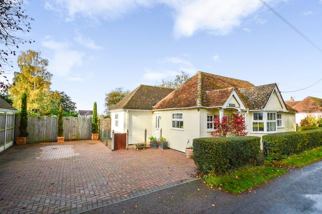 Thumbnail Detached bungalow for sale in Great Maplestead, Halstead, Essex