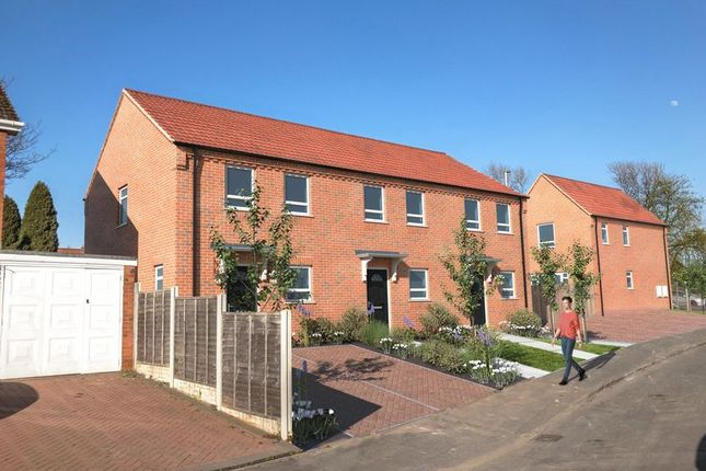Thumbnail Terraced house for sale in Quarry Bank, Brandon Way, Park View, Plot Three