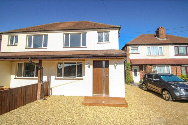 Thumbnail Semi-detached house for sale in Frimley Green, Camberley