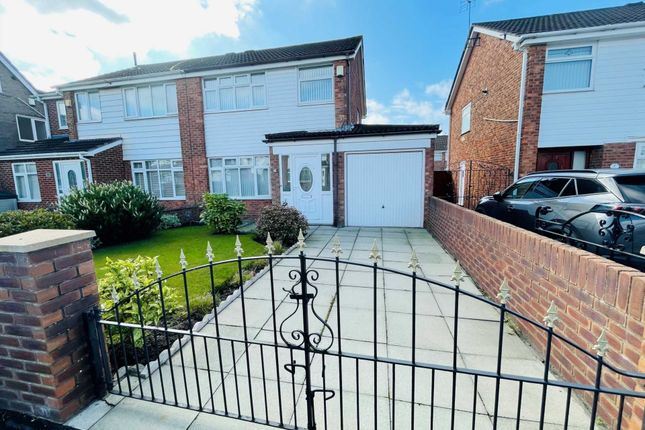 Thumbnail Semi-detached house for sale in Malvern Close, Mill Park