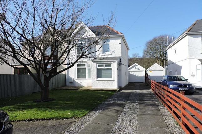 Thumbnail Semi-detached house for sale in Pontardawe Road, Clydach, Swansea