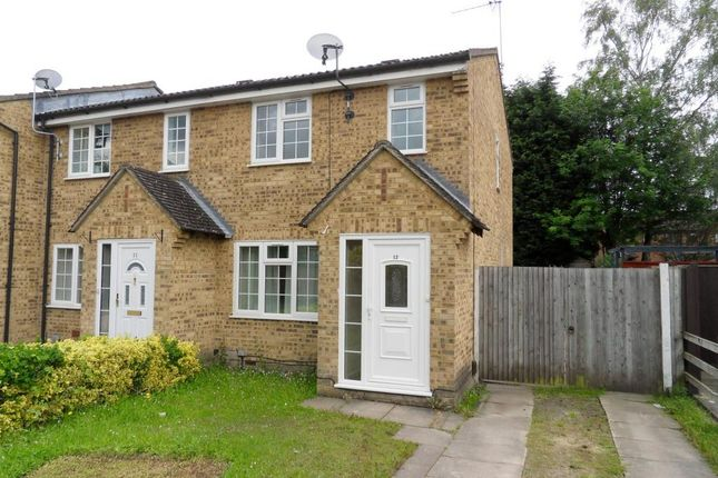 Thumbnail End terrace house to rent in Crofton Close, Bracknell