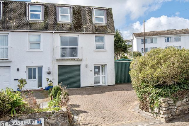 Thumbnail End terrace house for sale in Pikes Hill, Falmouth
