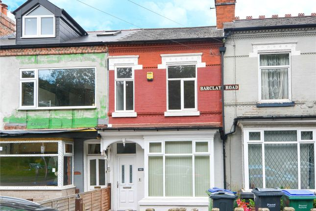 Thumbnail Terraced house for sale in Barclay Road, Bearwood