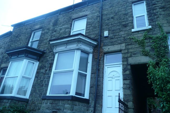 Thumbnail Terraced house to rent in Berkeley Precinct, Ecclesall Road, Sheffield