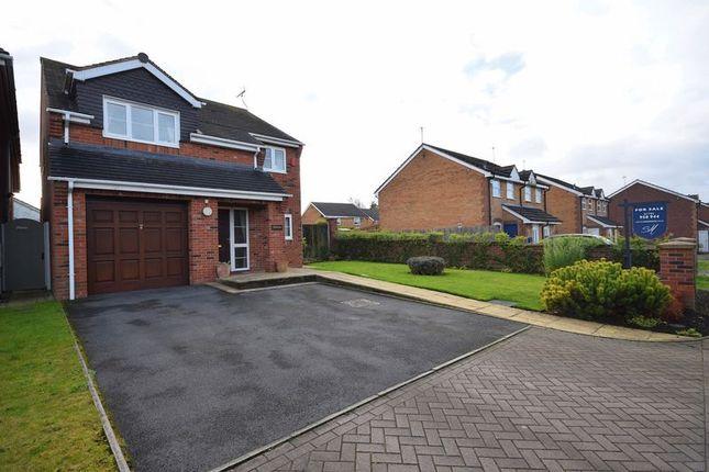 Thumbnail Detached house for sale in Irvine Road, Werrington, Stoke-On-Trent