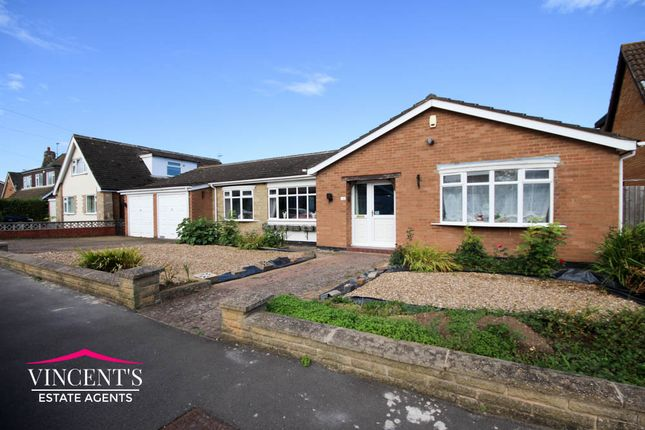 Thumbnail Detached bungalow for sale in Harene Crescent, Kirby Muxloe, Leicester, Leicestershire