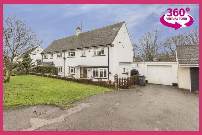 Thumbnail Semi-detached house for sale in Pentre Lane, Llantarnam, Cwmbran