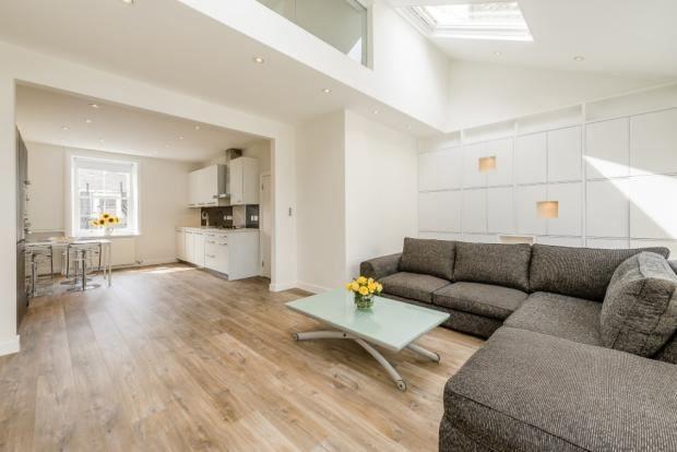Thumbnail Flat to rent in Linden Gardens, London