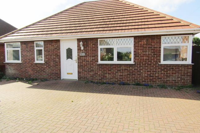 Thumbnail Bungalow to rent in Windsor Road, Yaxley, Peterborough