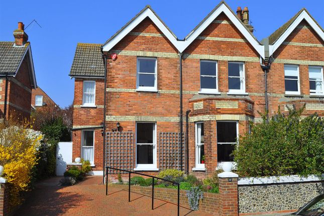 Thumbnail Semi-detached house for sale in Hartfield Road, Upperton, Eastbourne