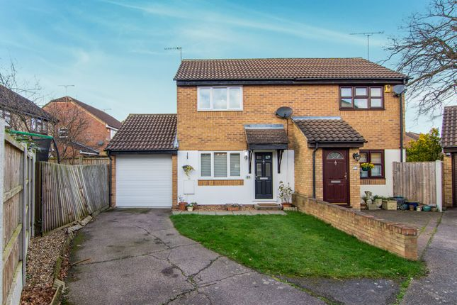 Thumbnail Semi-detached house for sale in Lampern Crescent, Billericay