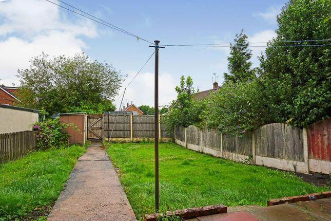 Rear Garden of Dean Road, Wombourne, Wolverhampton WV5