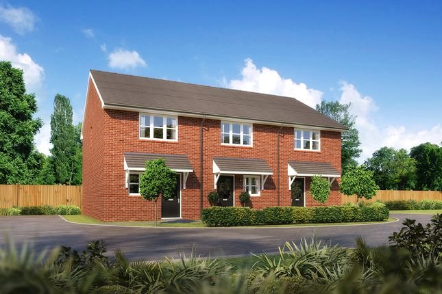 "3 bedroom mews house for sale in ""Aston"" at Moorfields, Willaston, Nantwich"