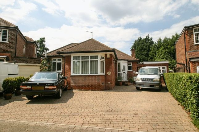 Thumbnail Detached bungalow for sale in Woodend Gardens, Enfield