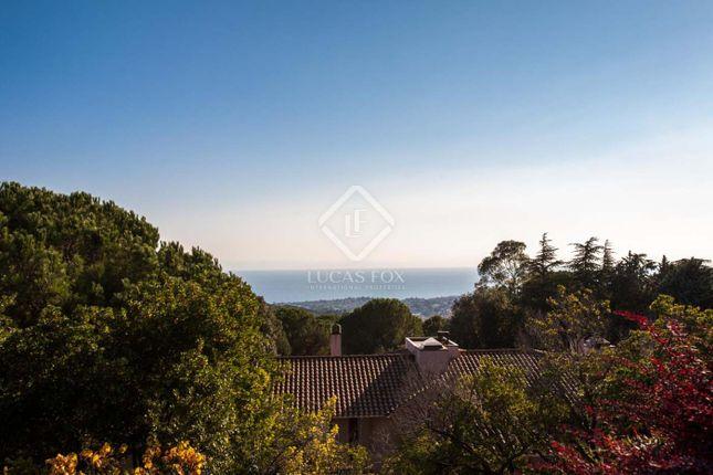 Thumbnail Villa for sale in Spain, Barcelona North Coast (Maresme), Alella, Mrs3323