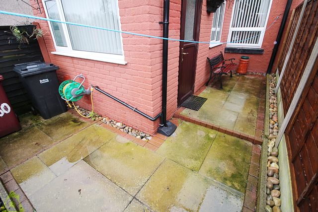 Patio Area of Bolton Road, Westhoughton BL5