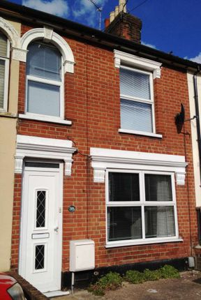 Thumbnail Terraced house to rent in Foxhall Road, Ipswich