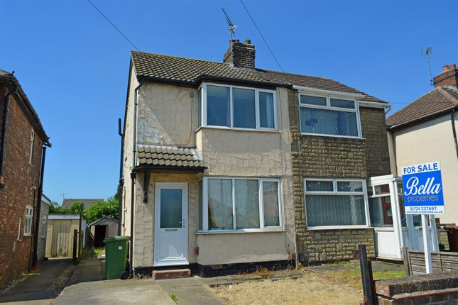 Thumbnail Semi-detached house to rent in Sandhouse Crescent, Scunthorpe