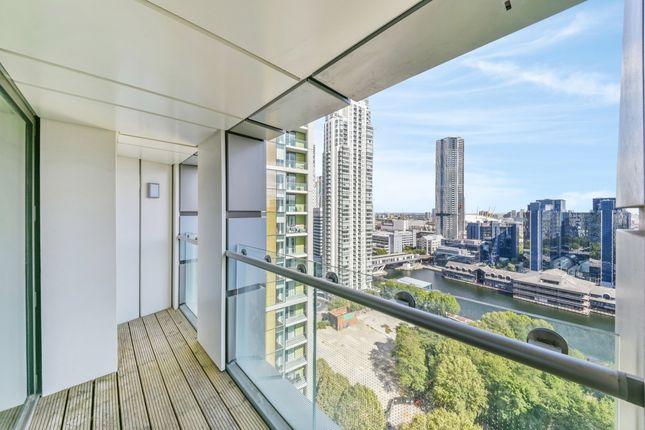Balcony of Talisman Tower, Lincoln Plaza, Canary Wharf E14