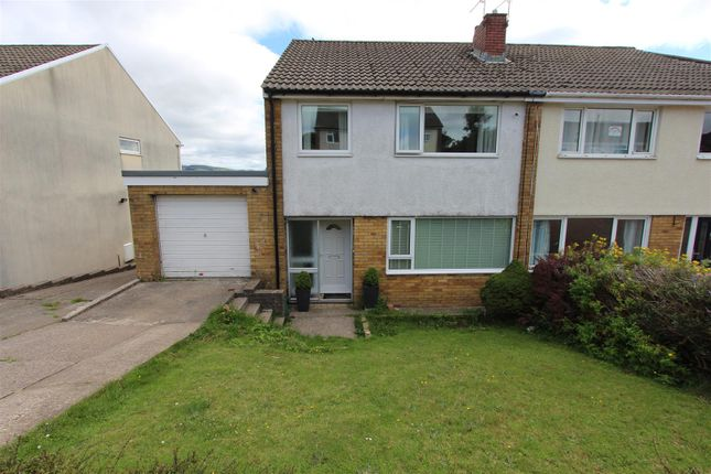 Thumbnail Semi-detached house for sale in Denbigh Court, Caerphilly