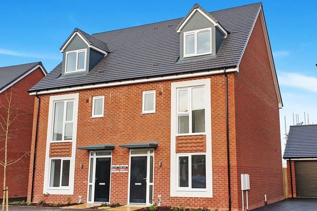 Thumbnail Semi-detached house for sale in Blythe Fields, Uttoxeter Road, Stoke-On-Trent