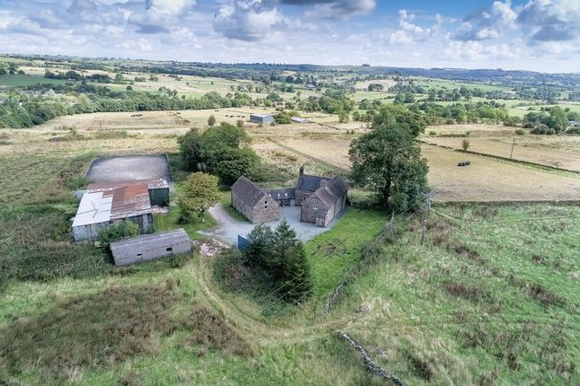 Thumbnail Detached house for sale in Winkhill, Leek