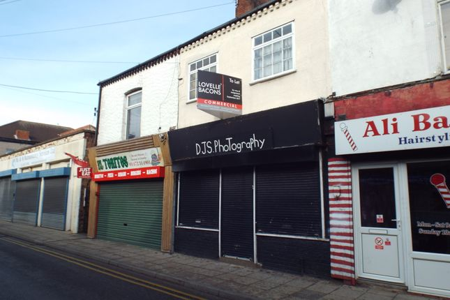 Retail premises to let in Pasture Street, Grimsby