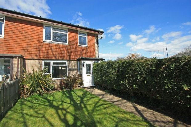 3 bed end terrace house for sale in Solent Close, Lymington, Hampshire