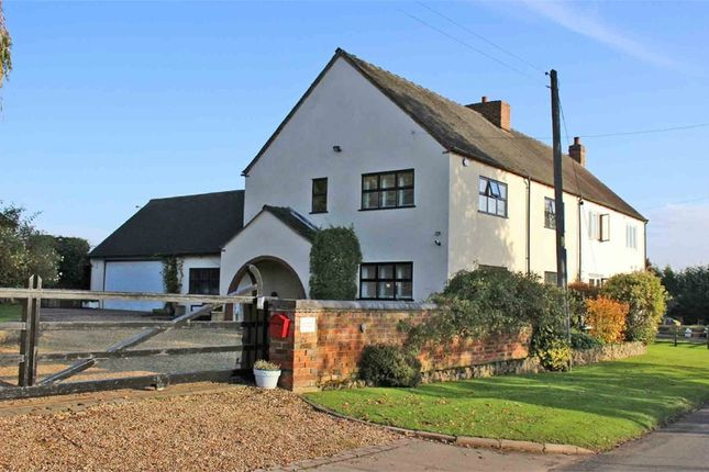 Thumbnail Semi-detached house for sale in 'oak Tree Cottage', New Road, Shuttington, Tamworth, Warwicks