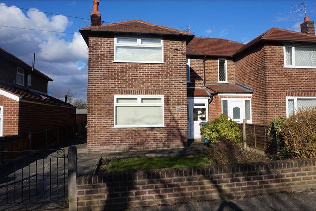 Thumbnail Semi-detached house for sale in Brookfold Road, Heaton Chapel