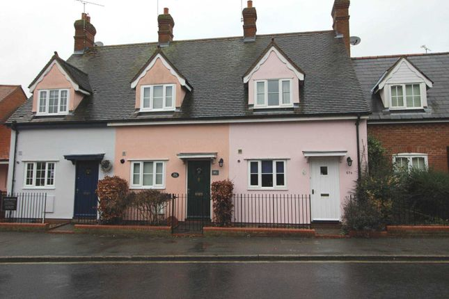 2 bed terraced house to rent in Church Street, Coggeshall, Colchester