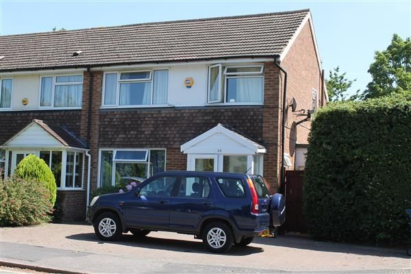 Thumbnail End terrace house to rent in Fontwell Close, Harrow Weald, Harrow