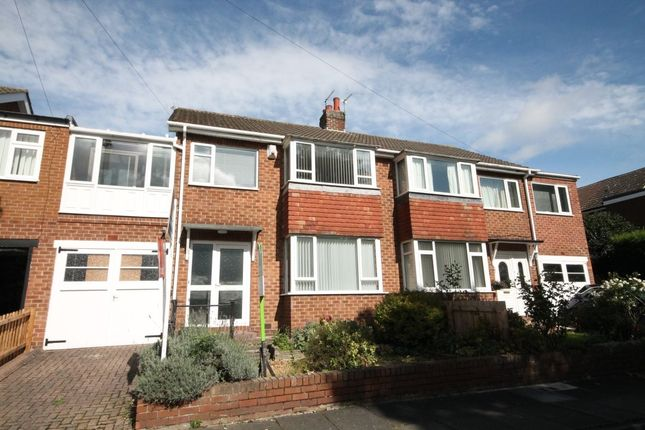 Thumbnail Semi-detached house to rent in Horncliffe Place, Throckley, Newcastle Upon Tyne