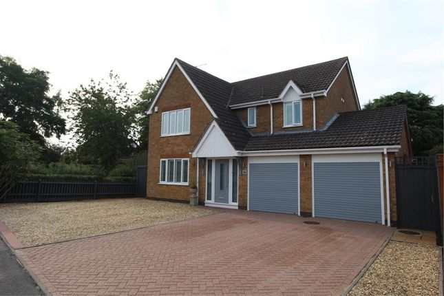4 bed detached house for sale in Almond Way, Lutterworth LE17
