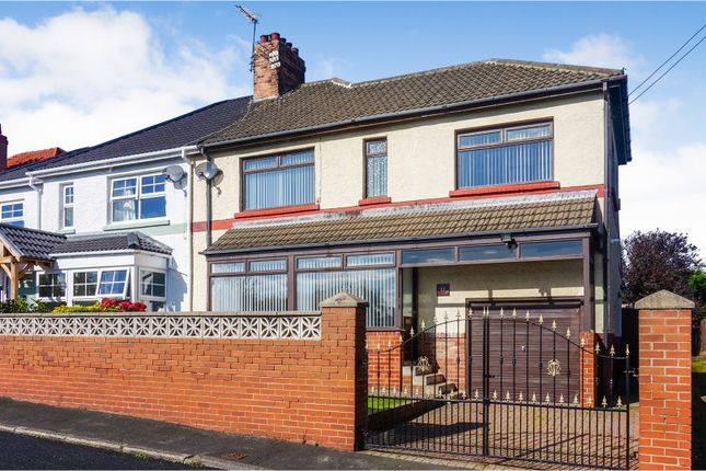 3 bed semi-detached house for sale in Camden Square, Seaham