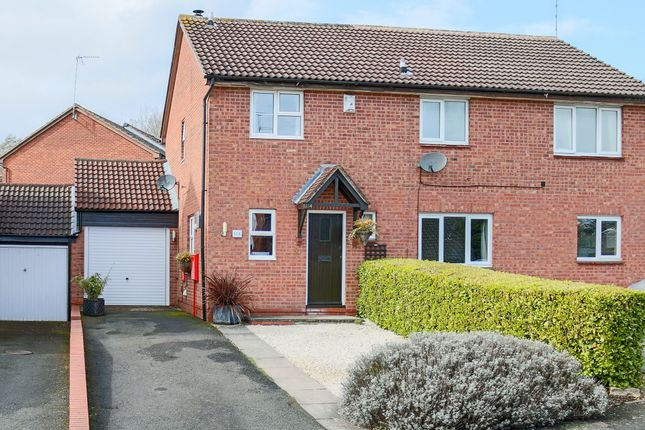 Thumbnail Semi-detached house for sale in Tidbury Close, Walkwood, Redditch