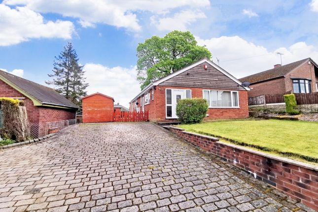 Thumbnail Bungalow for sale in Hall Drive, Weston Coyney, Stoke-On-Trent