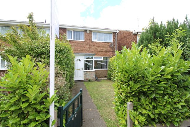 Thumbnail End terrace house to rent in Beadnell Road, Blyth