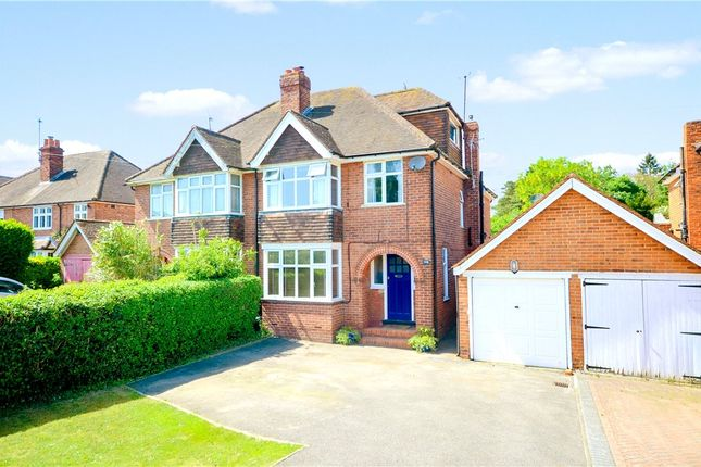 Thumbnail Semi-detached house for sale in Henley Road, Caversham, Reading