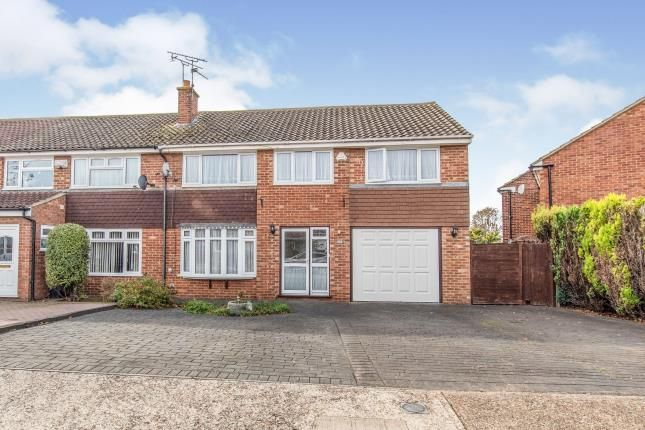 Thumbnail Semi-detached house for sale in Flowerhill Way, Istead Rise, Gravesend, Kent