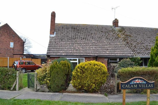 Thumbnail 2 bed semi-detached bungalow for sale in Calam Villas, Atwick, East Yorkshire