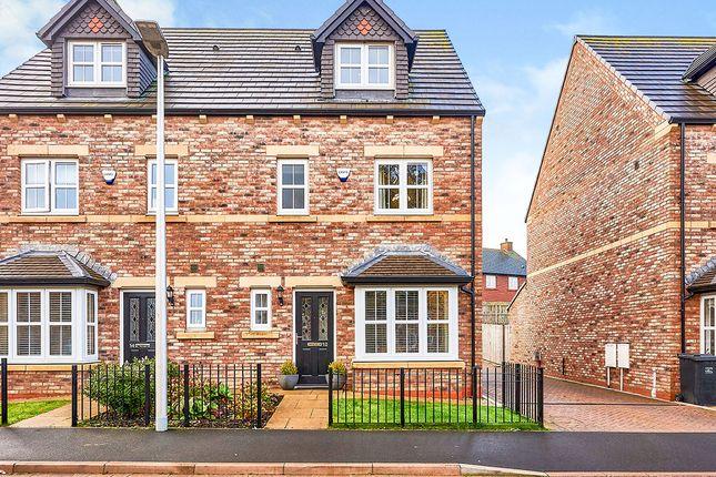 Thumbnail Semi-detached house for sale in Newbury Way, Carlisle, Cumbria