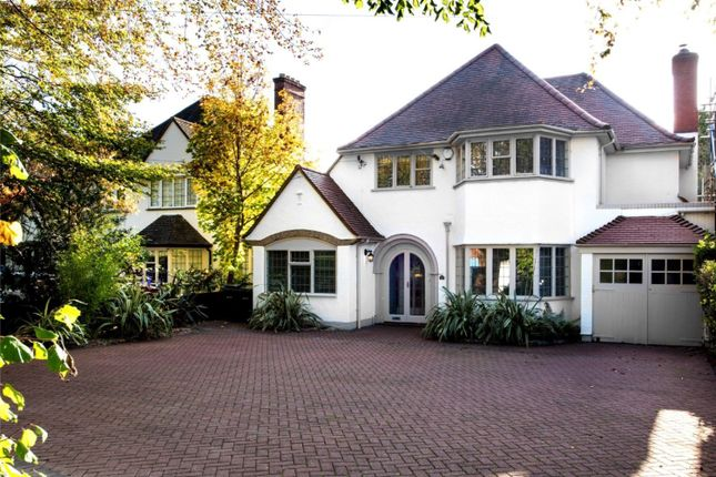 Thumbnail Detached house for sale in Walsall Road, Four Oaks, Sutton Coldfield