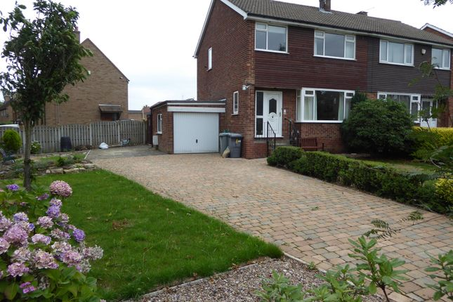 Thumbnail Semi-detached house to rent in Cedar Way, Gomersal, Cleckheaton