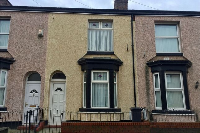 Thumbnail Terraced house to rent in Cowper Street, Bootle, Merseyside