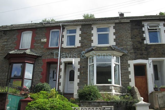 Thumbnail Terraced house for sale in Mount Pleasant, Ynysddu, Newport.