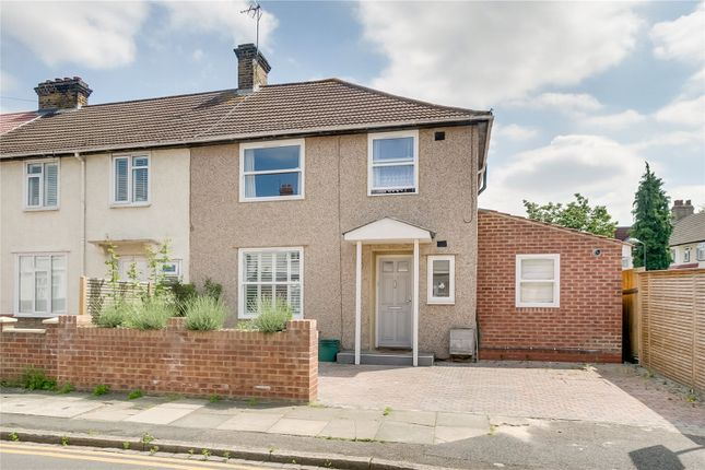 Thumbnail End terrace house for sale in Fleming Mead, Mitcham