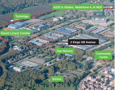 Thumbnail Office to let in 2 Kings Hill Avenue, Kings Hill, West Malling, Kent