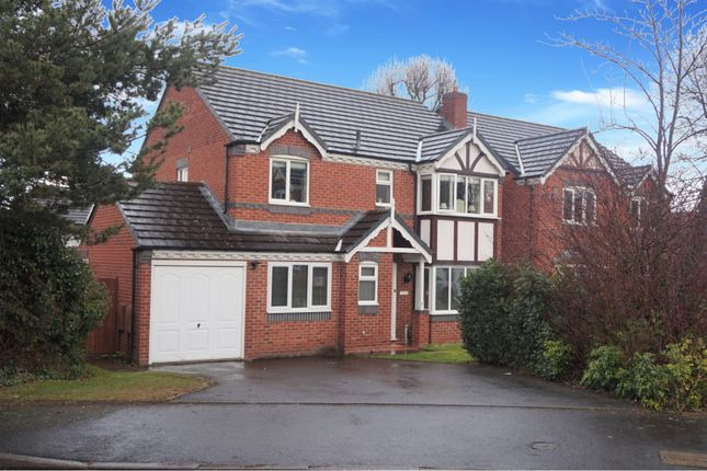 Thumbnail Detached house for sale in Sulby Drive, Apley Telford